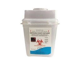 Puncture Proof Sharp Bio Medical Waste Container 1.5 Litre For Hospitals