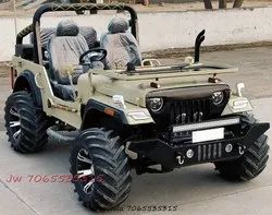 Jeepwala 2500cc Open Modified Willy Jeeps With Complete Papers And Modification