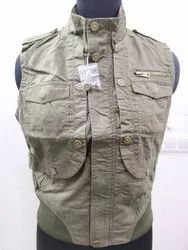 Women Branded Surplus Sleeveless Jacket