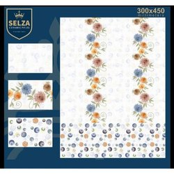 Selza Ceramic Kitchen Tiles, Size: 300*450 mm, Thickness: 5-10 mm