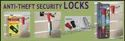 Anti Theft Security Lock For Stationary Store