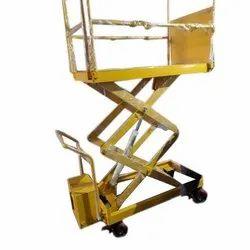 Hydraulic scissor Lift Trolley