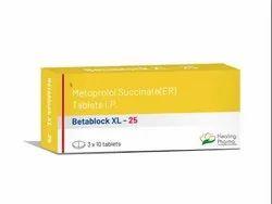 Betablock 25XL (Metoprolol Succinate 25mg ER)