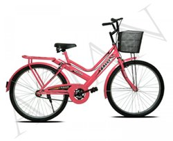 Pink Balli City Bicycle, Model Name/Number: Ab-403, Size: 26
