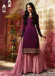 Wedding Wear Sharara Salwar Suit