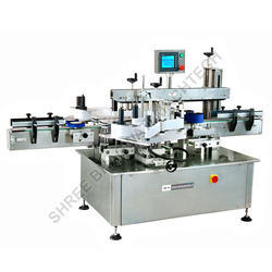 Labeling Machine for Front & Back Labels
