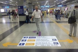 Mall Floor Graphics Services
