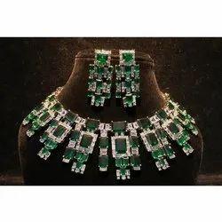Ladies Party Wear Necklace Set