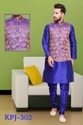 Designer Mens Silk Kurta Pyjamas with Jacket