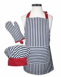 Cotton Printed Kids Apron Set