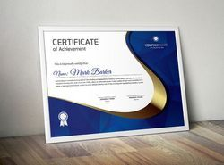 Custom Printed Certificates