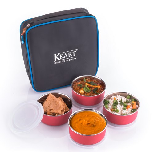 ab05b5deece3 Kkart Microwave Safe Lunch Box: 4 Container