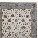 Hand Knotted Modern Design Wool Rug for Living Room