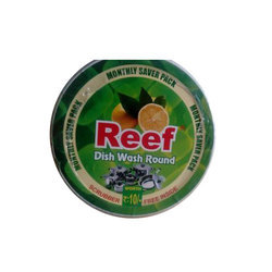 Solid Reef Scrubber Dish Wash Bar, Pack Size: 500 Gram, Pack Type: Box