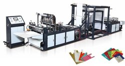 W Cut Non Woven Bag Making Machine