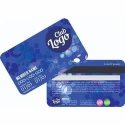Plastic Membership Card
