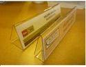 Acrylic Name Holders