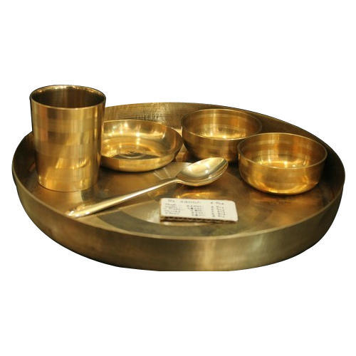 Bronze Golden St Dinner Set