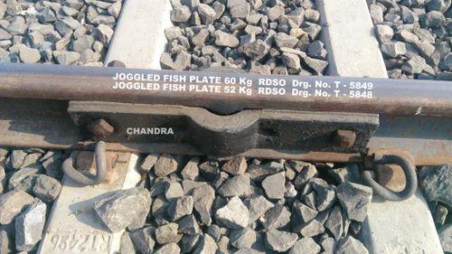 Railway Fish Plate - Joggled Fish Plate ( 60 kg & 52 kg