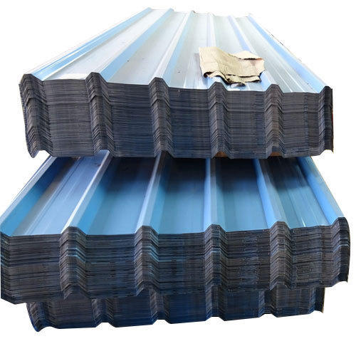 Blue Galvanised Coated Roofing Sheet Rs 245 Square Meter Mac Tech International Private Limited Id 10393074088