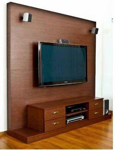 Charmant Wooden TV Unit