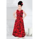Girl One Piece Red Middy
