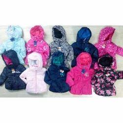 Pink Black Navyblue Girls Padding Jackets