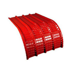 Curved Cladding Sheet