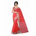 Ladies Border Design Pure Cotton Saree