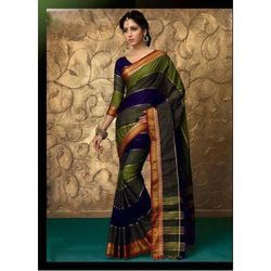 Ladies Cotton Party Wear Saree