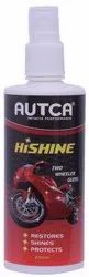 Autca Hishine Spray Polish For Bikes Motorcycles 250ml