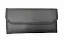 Cheque Book Holder Cloth (black)