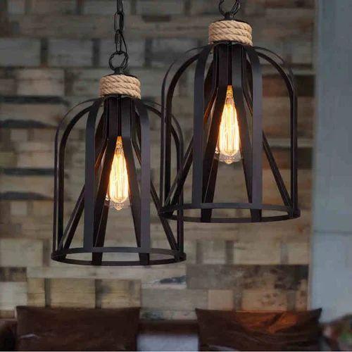 Craft Looks Rope Hanging Pendant Light Lamp