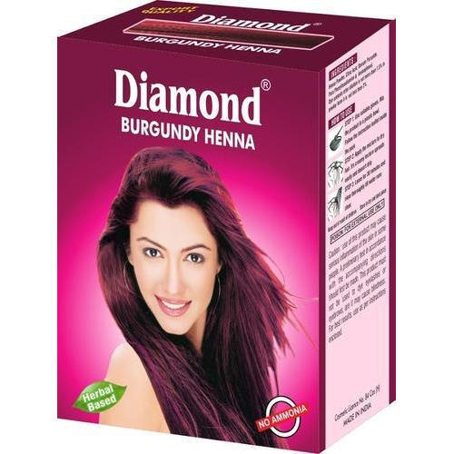 Burgundy Henna Herbal Hair Color