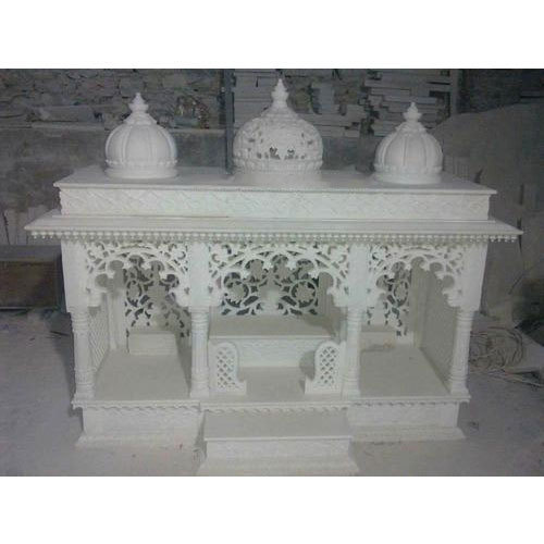 Marble Temple with Carnelian Work