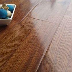 Brown Wood Laminated Flooring