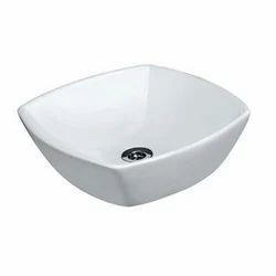 White Jaquar Table Top Basin