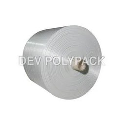 White Laminated PP Woven Roll
