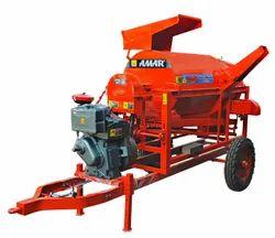 Engine Model Paddy Rice Thresher