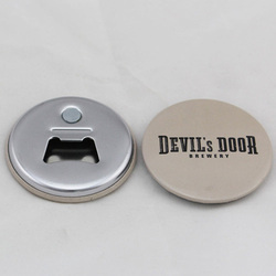 Metal Button Badge Bottle Opener