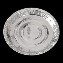 Silver Paper Disposable Plate