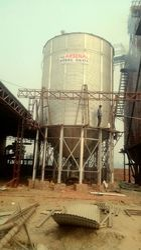 GI Grain Storage Silo