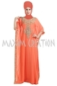 Floor Touch Maxi Dress For Daily Use