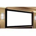 Fix Frame Acoustic Projector Screen