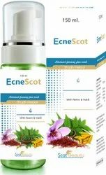 Ecnescot Foaming Face Wash, Usage:Parlour and Personal