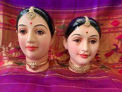 Gauri Mahalaxmi Pop Plaster Face