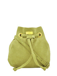 Yelloe Green Sling Bag With A Small Size Sa6s9041i