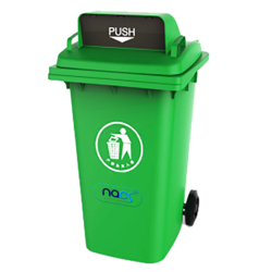 Open Hood Wheeled Dustbin