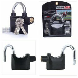 Universal Security Alarm Lock System Anti-Theft for Door Motor Bicycle Padlock 110 dB with 3 Keys