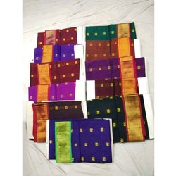 Festive Wear Cotton Maharani Paithani Saree, Machine Made, 6 m